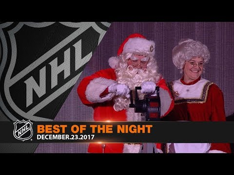 Matthews' return, Barzal's first career hat trick highlight holiday-themed night