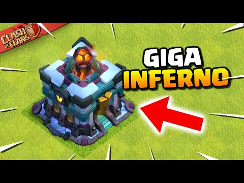 TOWN HALL 13 Is An INFERNO TOWER! The Giga Inferno - Winter Update Sneak Peek 1 (Clash Of Clans)