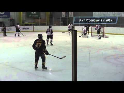 Sewickley Academy Boys Ice Hockey vs Kiski Area @ RMU Highlight Video 1-4-16