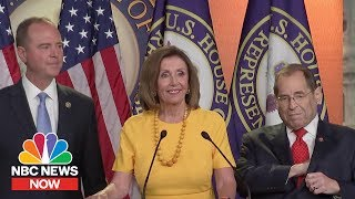 Watch Full Response From Democratic Leadership To Mueller Hearing | NBC News Now