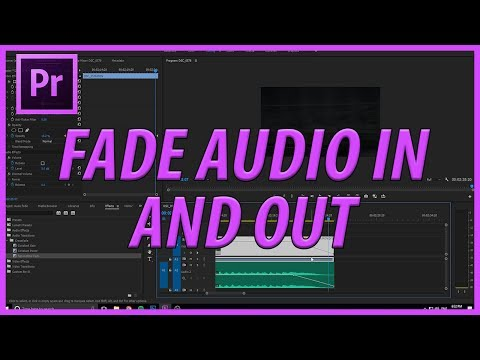 How to Fade Music In and Out in Premiere Pro CC (2017)