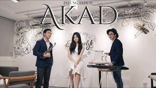Akad -  Payung Teduh ( Saxophone Cover by Desmond Amos ft  Brigitta Tifanny & Rioktag )