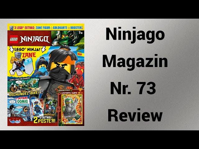 Zane Action! | Ninjago Magazin Nr. 73 Review | Steinfreund2014