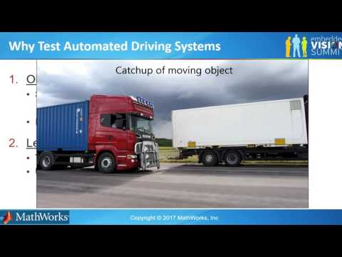 MathWorks' Avinash Nehemiah Describes How to Test and Validate an Automated Driving System (Preview)