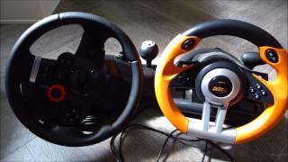 Unboxing Logitech Driving Force GT Lenkrad + Vergleich [HD+]
