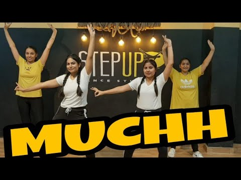 #MUCHH - #DILJIT DOSANJH EASY BHANGRA MOVES CHOREOGRAPH BY STEP UP DANCE STUDIO