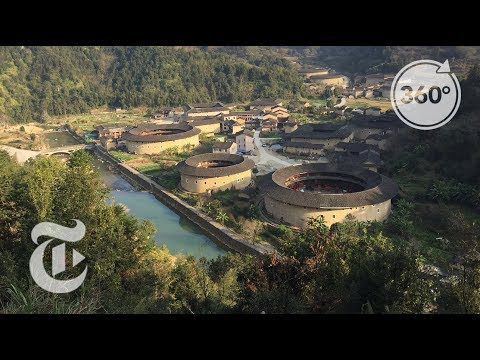 China's Ancient Circular Walled Homes   The Daily 360   The New York Times
