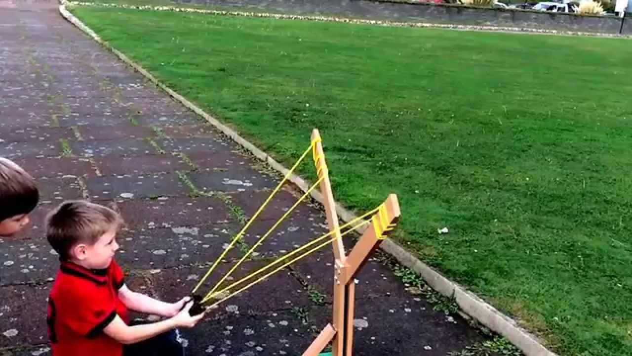 how to build a medium sized catapult