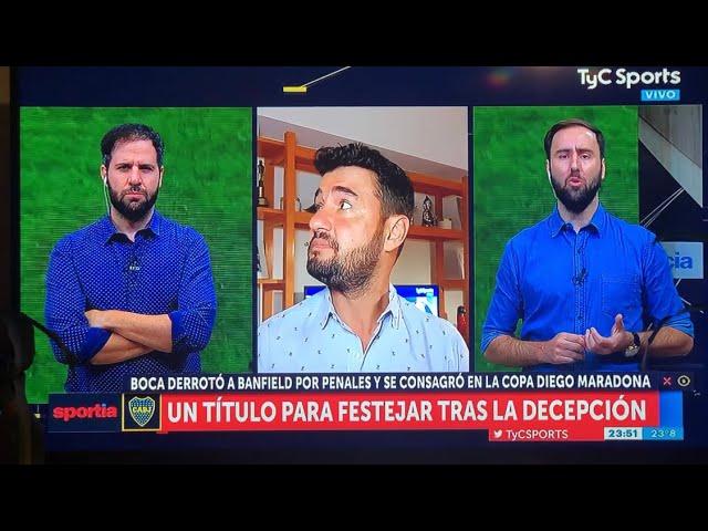 Sismo en San Juan y acá en Buenos Aires se sintió mucho, Justo estaba saliendo al aire en TyC Sports