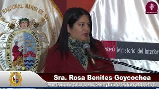 Tema:CONVENIO INTERINSTITUCIONAL UNMSM- MININTER