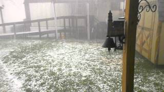 The worst hailstorm ever