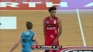 Jean-Pierre Tokoto with 30 Points  vs. New Zealand Breakers