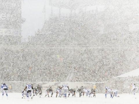 2013 WK 14 Detroit Lions (7-5) @ Philadelphia Eagles (7-5) Snow Game