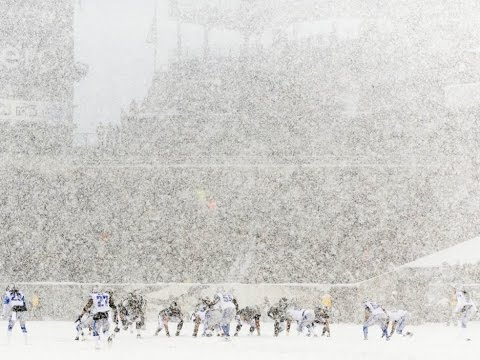 2013 WK 14 Detroit Lions (7-5) @ Philadelphia Eagles (7-5) Snow Game