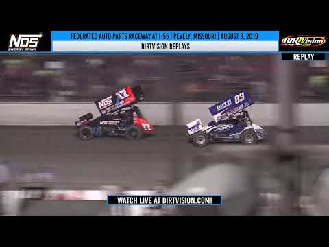 DIRTVISION REPLAYS | Federated Auto Parts Raceway at I-55 August 3, 2019