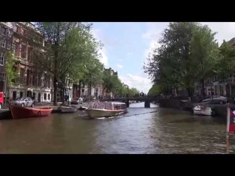 Boating in Amsterdam