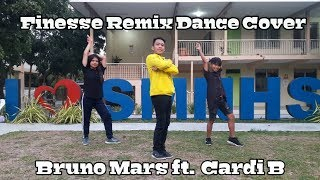 FINESSE REMIX- Bruno Mars ft. Cardi B DANCE COVER I MATT STEFFANINA, RANZ and NIANA Choreography