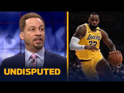 LeBron's number of unassisted points proves he's LA's only playmaker — Broussard | NBA | UNDISPUTED