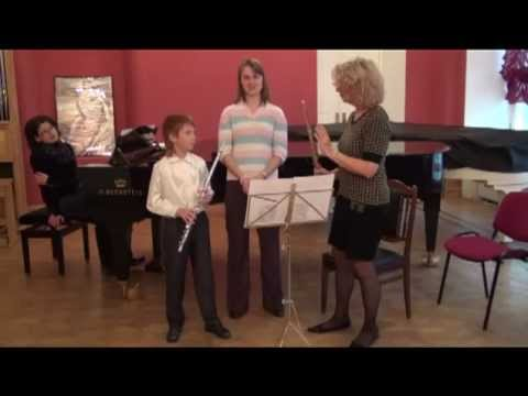 Masterclass of  Patricia NAGLE in Moscow. Anton Devedgiev