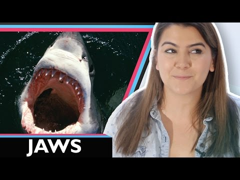 I Watched JAWS For The First Time | #TheGeekAwakens