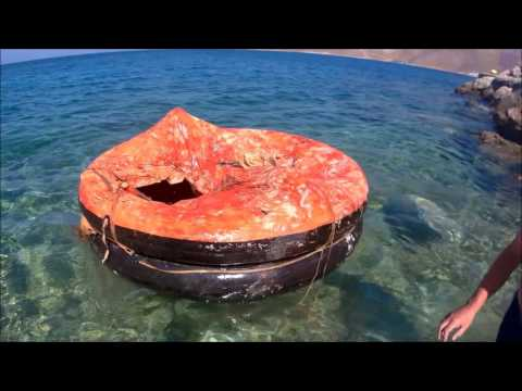 Inflating A 32 Year Old Liferaft From 1984
