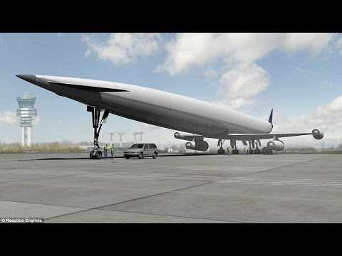 New UK facility to test engines for a radical new spaceplane