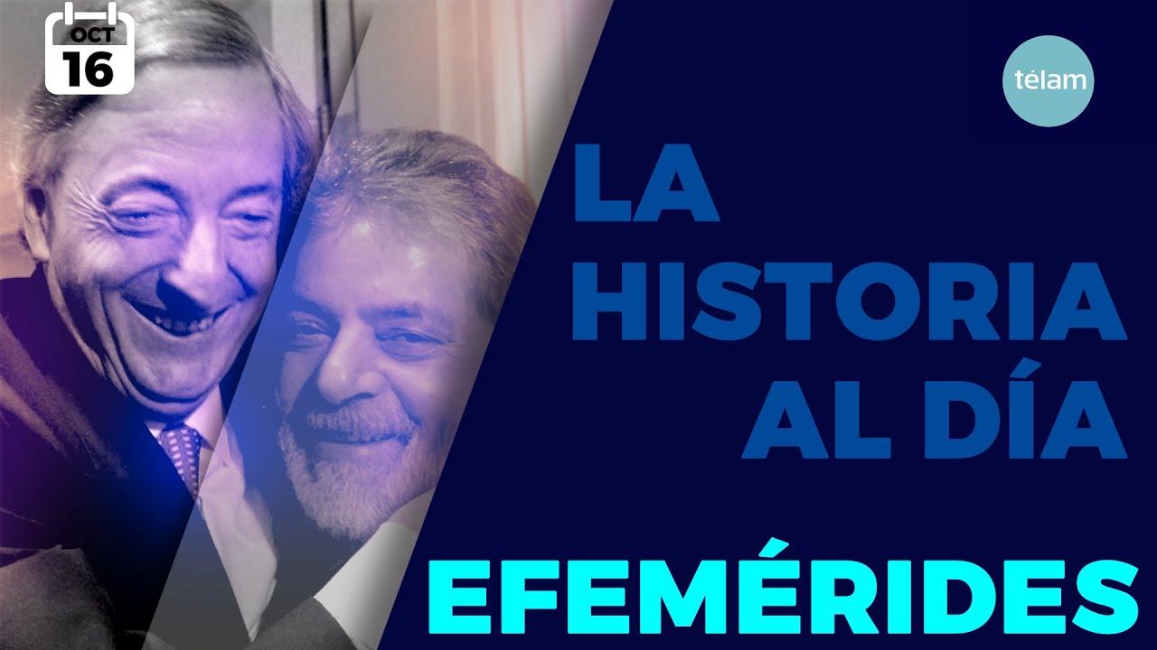 LA HISTORIA AL DÍA (EFEMÉRIDES 16 OCTUBRE)