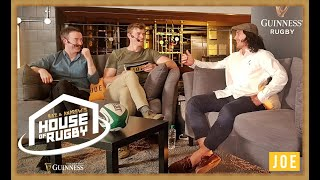 James Lowe, David Wallace, Conrad Smith and Tana Umaga on Baz & Andrew's House of Rugby LIVE