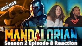 "The Mandalorian Season 2 Finale BRITISH REACTION x REVIEW ""The Rescue"" 2x08 #LukeSkywalker #Grogu"