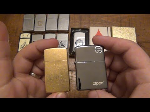 dating old zippo lighters