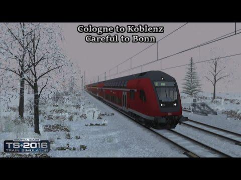 Train Simulator 2016 - Career Scenario - Cologne to Koblenz - Careful to Bonn Part 1 |