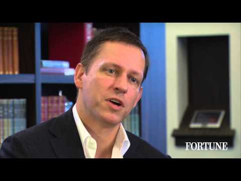 Peter Thiel: Monopoly is how to do well in business | Fortune