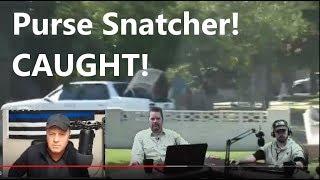 PURSE SNATCHER! Swarmed by undercover COPS - Master Surveillant Mindset - Darin Fredrickson