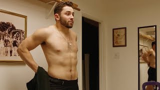 Baker Mayfield goes shirtless for Sports Illustrated