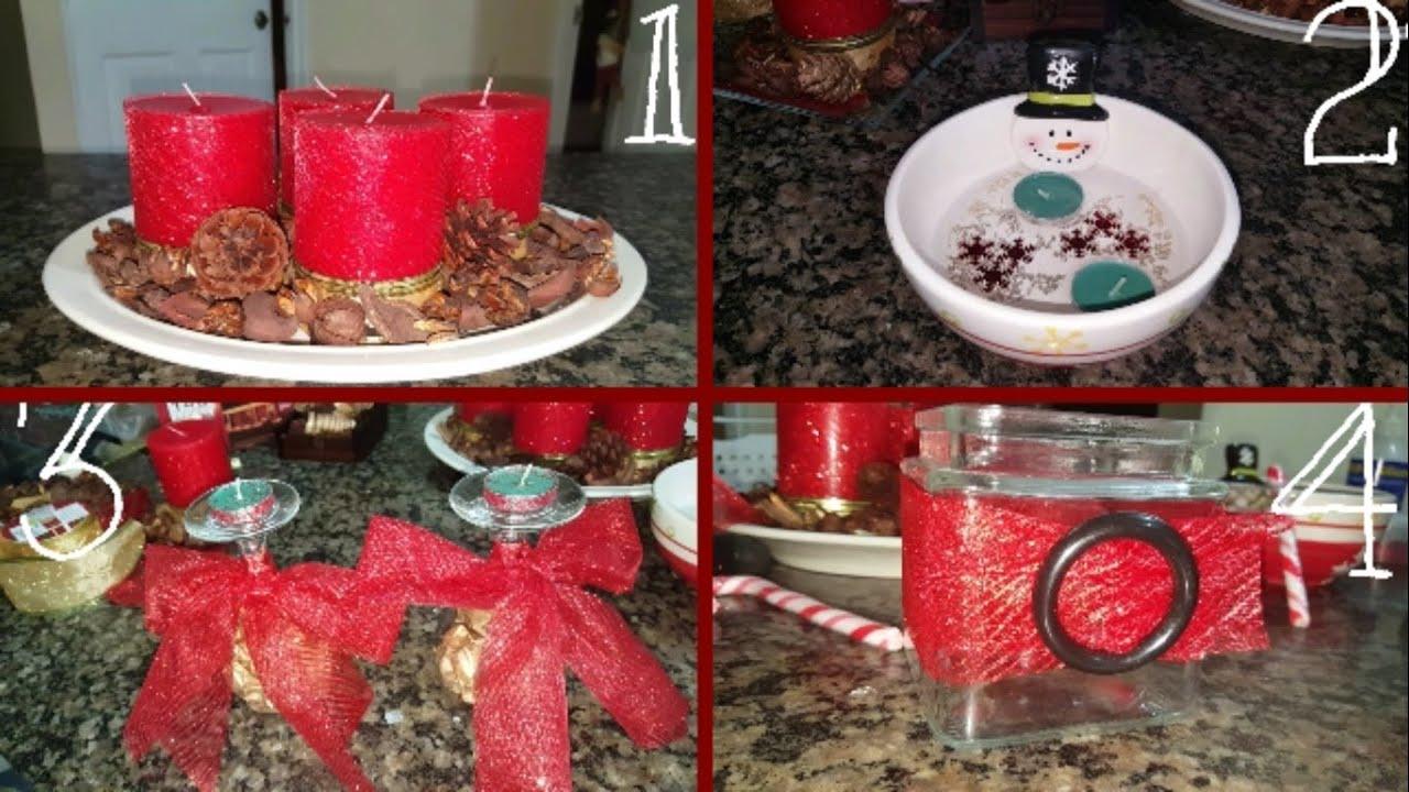 Centros de mesa navide os con velas nory melissa youtube - Youtube centros de mesa navidenos ...