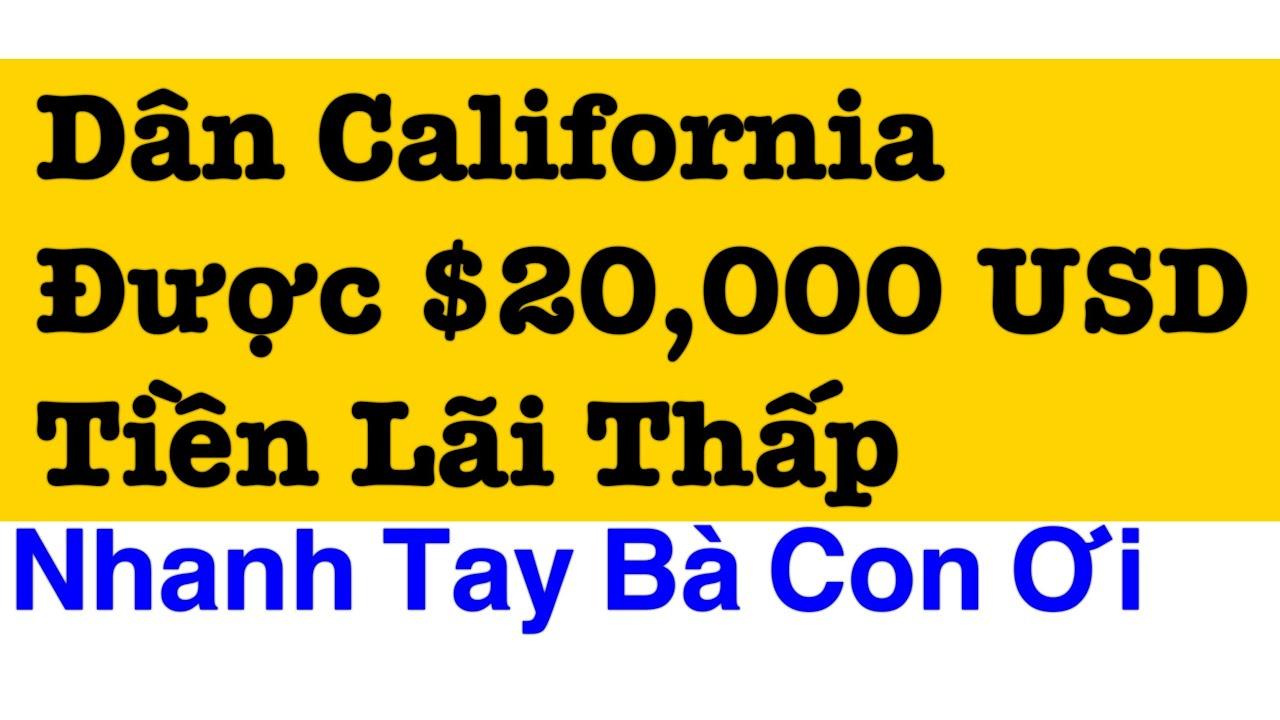 $20,000 Chỉ có $1/triệu DOLLARS Doanh nghiệp Mượn lãi suất thấp Westminster Cali