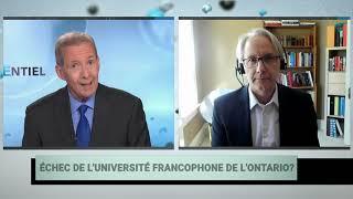 Les problèmes dans l'éducation supérieure francophone en milieu minoritaire