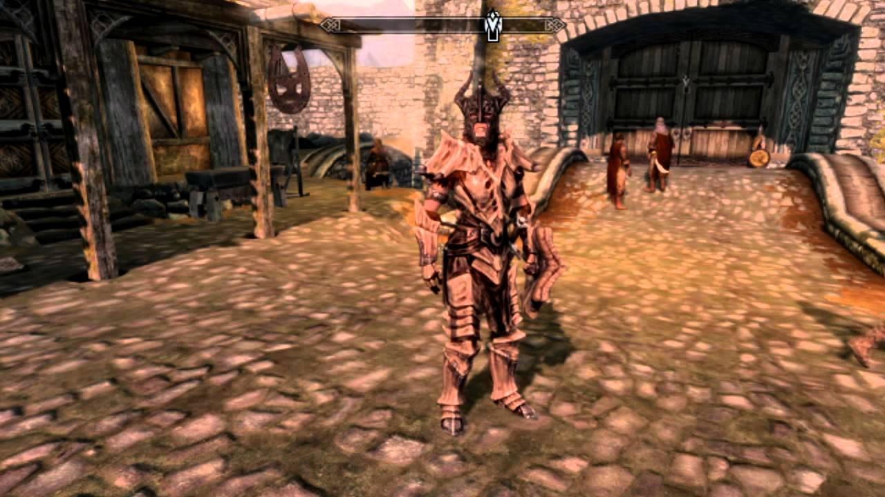 Skyrim Full Dragon Armor Set Youtube How to get a dragon bow, battleaxe skyrim remastered best daedric weapons & armor & enchanted at level one! skyrim full dragon armor set