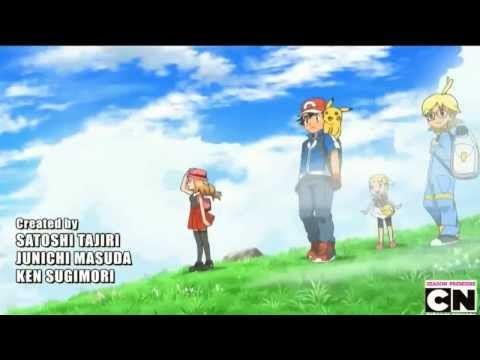 Pokemon X and Y English Anime Opening