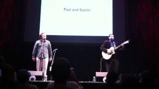 Paul & Storm - Write Like the Wind(George R.R. Martin) at w00tstock 4.0