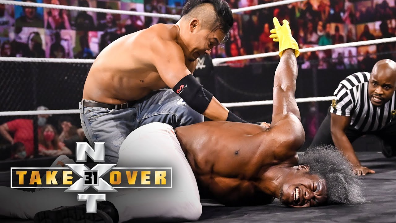 Kushida wastes no time against Velveteen Dream: NXT TakeOver 31 (WWE Network Exclusive)
