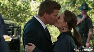 Booth and Brennan. Bones.