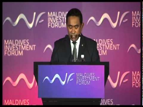 Inauguration of the Maldives Investment Forum