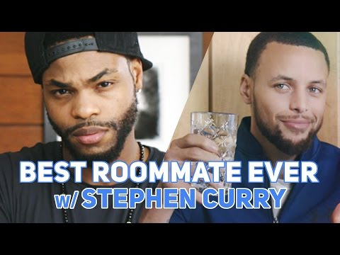 Best Roommate Ever w/ Stephen Curry (MUSIC VIDEO)