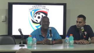 St Lucia U-20 Head Coach on the 1-1 draw with T&T in CFU qualifier