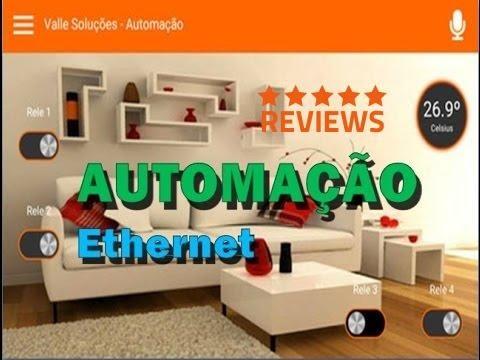 AUTOMAÇÃO ETHERNET- NOVA LINHA 2016 (Android)
