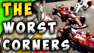 Top Ten Worst Corners In F1 2017