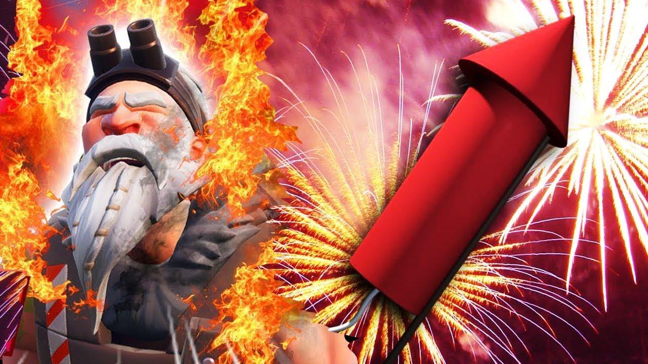 Lanza Fuegos Artificiales Ubicaciones Exactas Desafios Semana 4