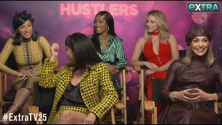 'Hustlers' Stars Dish on New Movie, Plus: J.Lo Teases A-Rod Wedding Details