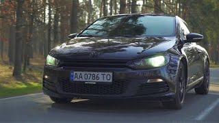Volkswagen Scirocco.  Это очень интересная и веселая гонка от производителя скучных машин.
